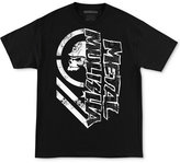 Metal Mulisha Men's Burn Graphic-Print Logo Cotton T-Shirt