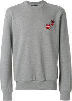 Dolce & Gabbana devil designer's patch sweatshirt
