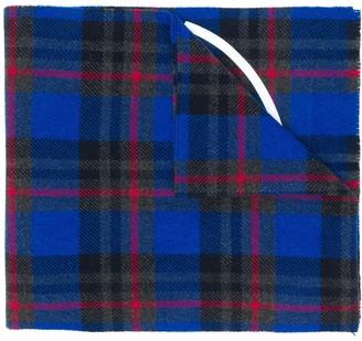 Moncler Echarpes plaid scarf