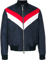 DSQUARED2 contrast bomber jacket - men - Nylon - 46