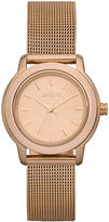 DKNY Watch, Women's Rose Gold Ion Plated Stainless Steel Mesh Bracelet 28mm NY8554