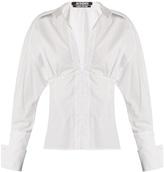 Jacquemus Paula pinstriped cotton shirt