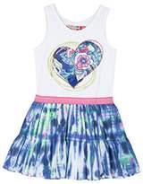 Desigual Girl's Printed Dress - Blue -