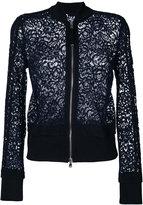 Diesel Black Gold Cassy bomber jacket - women - Silk/Cotton/Polyamide/Viscose - 42