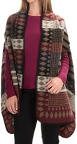 La Fiorentina Aztec Wrap (For Women)
