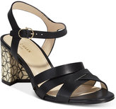 Cole Haan Jianna Strappy Block-Heel Sandals