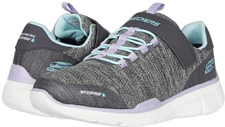 Skechers Sport - Equalizer 3.0 Mbrace 80469L (Little Kid/Big Kid) (Charcoal/Aqua) Girl's Shoes