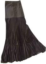 Herve Leger Grey Skirt for Women