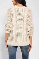 Urban Outfitters D.RA Stockholm Open-Knit Sweater