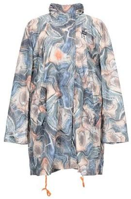 Blauer Overcoat