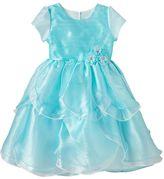 Nannette Girls 4-6x Nanette Organza Petal Dress