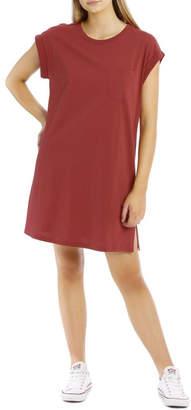 Miss Shop Essentials T-Shirt Dress Rose