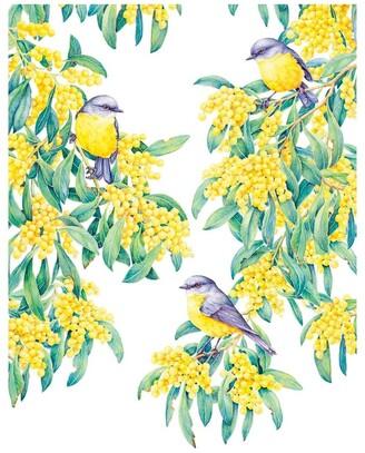 Maxwell & Williams Royal Botanic Gardens Victoria Garden Friends Tea Towel 50x70cm Robin