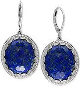 Effy Lapis Lazuli Drop Earrings (24-1/2 ct. t.w.) in Sterling Silver