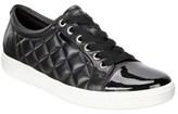 Ecco Women's Soft 7 Quilted Tie Shoe.