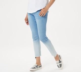 Women With Control Women with Control Regular My Wonder Denim Ombre Frayed Step Hem Jeans