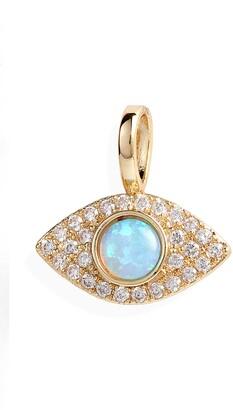 Melinda Maria Icons Opal Evil Eye Charm