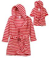 Leveret Striped Robe & Doll Robe (Toddler & Little Girls)