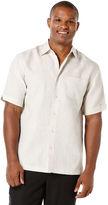Cubavera Big & Tall 100 % Linen Short Sleeve 1 Pocket Shirt