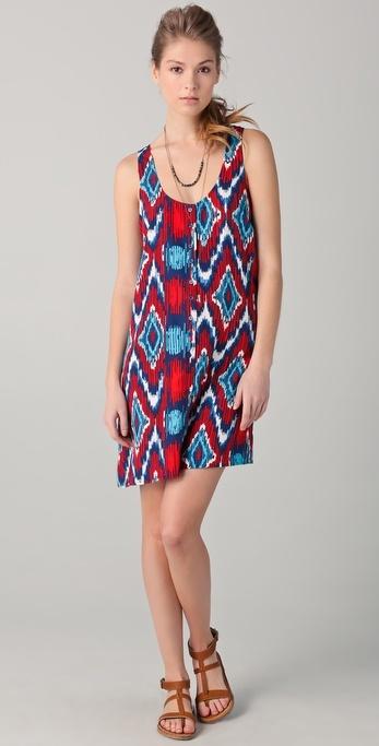 BB Dakota Jacinda Print Tank Dress