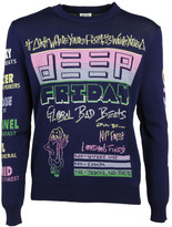 Kenzo Logo Deep Friday Sweater