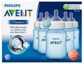 Avent Naturally Classic+ Bottles - 5 Pack - Pink or Blue