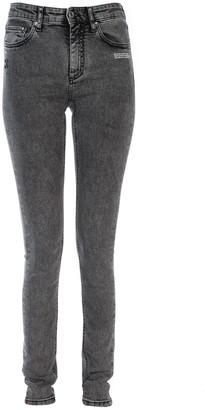 Off-White Off White Arrow Detail Skinny Jeans