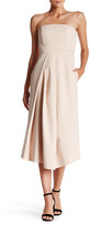Tibi Agathe Asymmetrical Strapless Gown