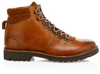 Eleventy Mountain Leather Hiking Boots