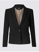 M&S Collection Panel Detail Short Blazer
