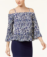 ECI Cold-Shoulder Top