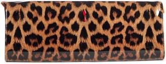 Christian Louboutin So Kate Leopard Print Clutch
