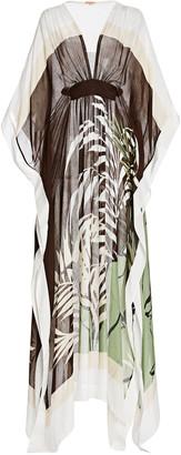 Johanna Ortiz Japanese Inspo Printed Tunic Dress