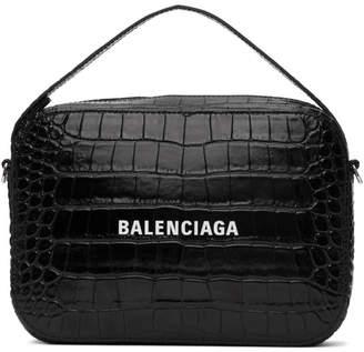 Balenciaga Black Everyday Messenger Bag