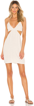 Indah Robin Cutaway Mini Dress
