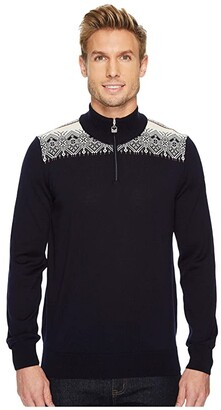 Dale of Norway Fiemme Sweater (C-Navy/Raspberry/Orange Peel/Peacock/Off-White) Men's Sweater