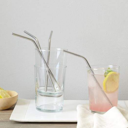 Metal Bendy Straws