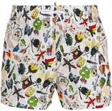 DSQUARED2 graphic swim trunks