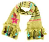 Catimini Girls' Embroidered Scarf