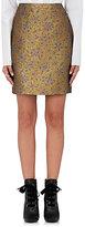 Lanvin Women's Floral Jacquard Miniskirt-YELLOW