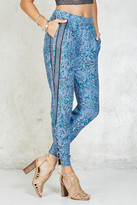 Gypsy 05 Gypsy05 Laced Ankle Printed Perfect Pant