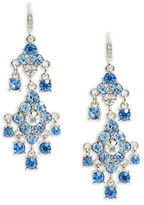 Carolee Something Blue Chandelier Earrings