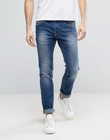 Blend of America Jeans Cirrus Skinny Fit Stretch Mid Wash