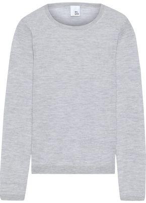 Iris & Ink Lill Cashmere And Silk-blend Sweater