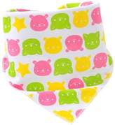 Panda Superstore Lovely Bear,3Pcs Pure Cotton Adjustable Baby Neckerchief/Saliva Towel