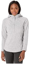 The North Face Crescent Hooded Pullover (TNF Light Grey Heather) Women's Sweatshirt