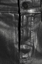 J Brand The Maria high-rise coated skinny jeans