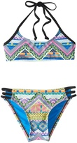 Hobie Girls' Desert Daze Strappy Bralette Bikini Set (714) - 8152010