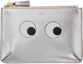 Anya Hindmarch Silver Small Eyes Loose Pocket Coin Pouch