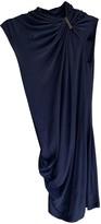 Plein Sud Jeans Blue Wool Dress for Women